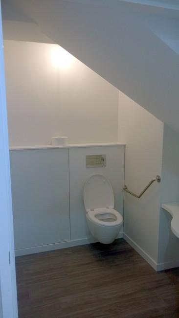 WC avec éclairage à detectiondetection