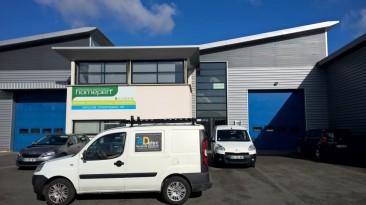 Aménagement électrique de bureaux à Boves